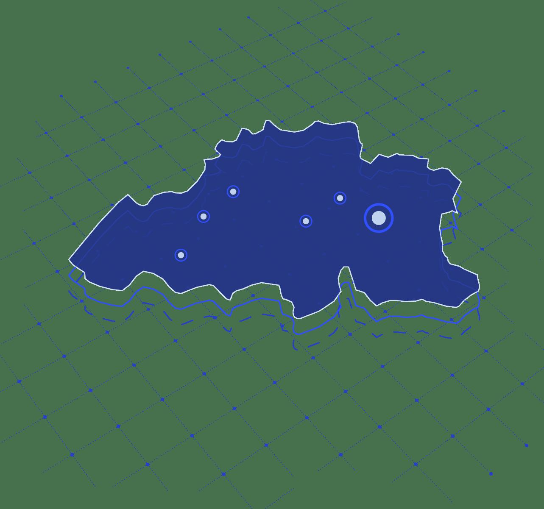 Vestigingen van Direct Result in België op een kaart weergegeven